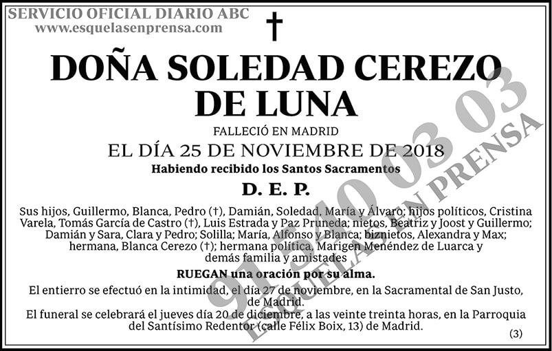 Soledad Cerezo de Luna